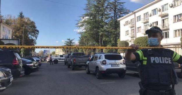Gürcistan'da Banka Soygunu Düzenlendi!