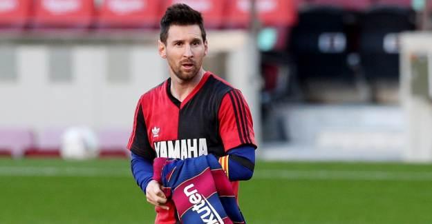 Barcelona Kazandı: Messi, Maradona'yı Unutmadı