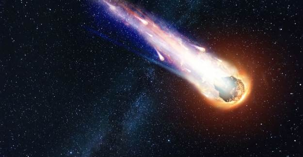 Bir Göktaşı Dünya'nın Yanından Rekor Hızla Geçti