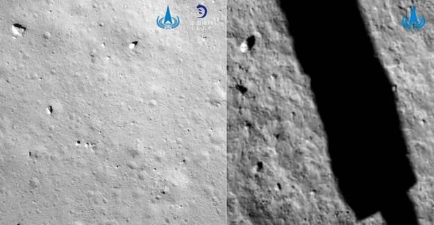 Çin'in Uzay Aracı İlk Örneklerini Topladı