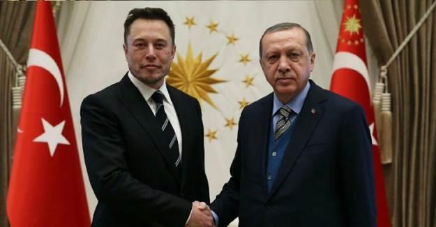 Cumhurbaşkanı Erdoğan, Elon Musk İle Görüştü