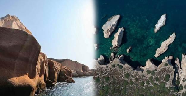 'Denizin Peribacaları' Siren Kayalıkları Hayranlık Uyandırdı