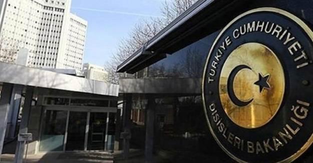 Dışişleri Bakanlığı Camiye Baskını Kınadı!