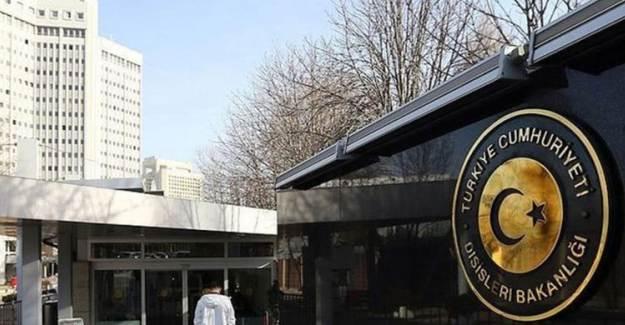Dışişleri Bakanlığı'ndan Füze Saldırılarına Kınama