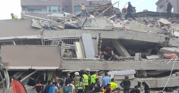 Doğanlar Apartmanı Enkazında Anne ve 4 Çocuğuyla İrtibat Kuruldu