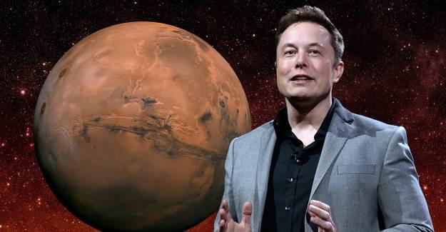 Elon Musk İlk Mars Üssünün Kurulacağı Yeri Belirledi