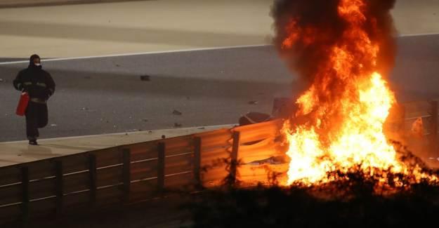 F1'de Korkunç Kaza!