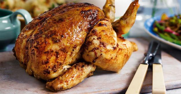 Fırında Kızarmış Tavuk Nasıl Yapılır?
