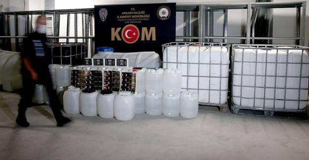 Sahte İçkiden 40 Kişi Tutuklandı!