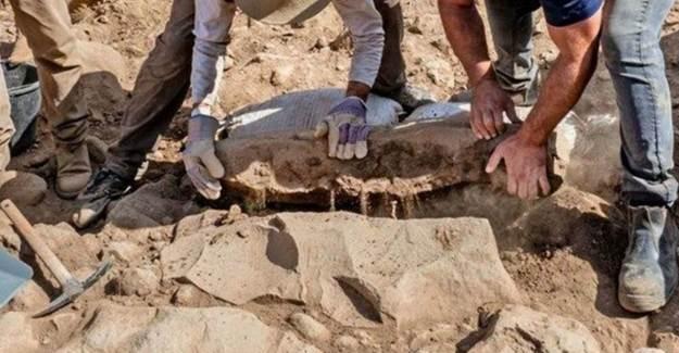 Golan Tepeleri'nde Bin 700 Senelik Yazılı Taş Bulundu