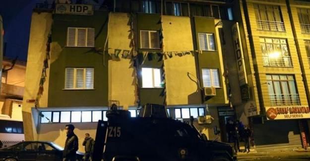 HDP Gözaltıları Başladı!