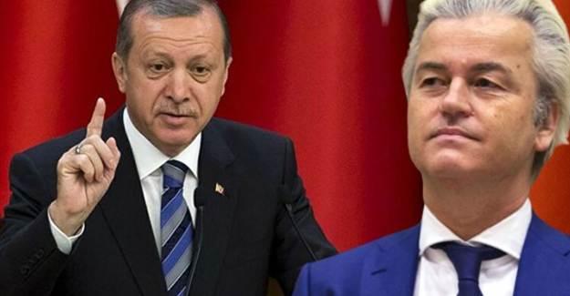 Hollanda Özgürlük Partisi Başkanı Geert Wilders Cumhurbaşkanı Erdoğan'a 'Terörist' Dedi