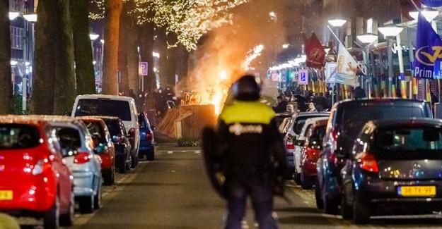 Hollanda'da Pandemi Önlemlerine Karşı Protestolar Şiddetini Arttırdı