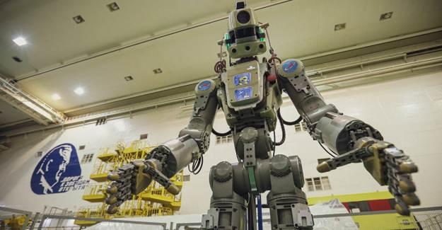İnsansı Robot Fedor, Rus Kozmonotlara 'Sarhoş' Dedi