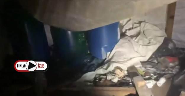 Irak'ta PKK'nın Mağarası Patlatıldı