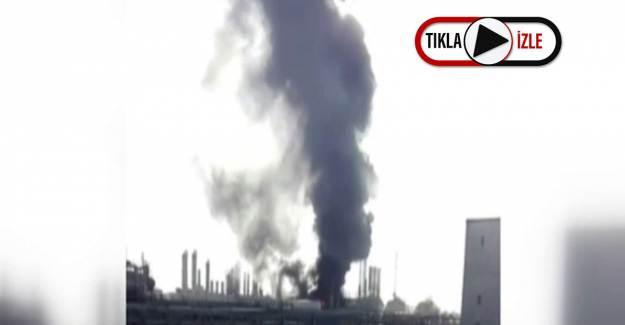 İran'da Petrokimya Fabrikasında Patlama Meydana Geldi