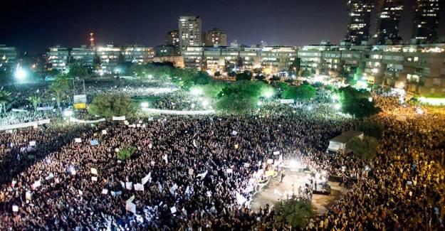 İsrail'de Karşıtı Gösteriler 18. Haftasına Girdi