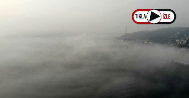İstanbul Sise Esir Oldu