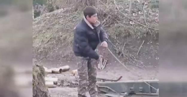 Kalleş Ermenistan Savaşta Çocukları Kullanıyor