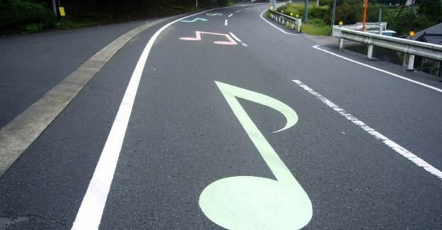Karayollarında Müzikli Şerit Uygulaması
