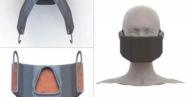 Koronavirüsü Isınarak Yok Eden Maske Üretildi