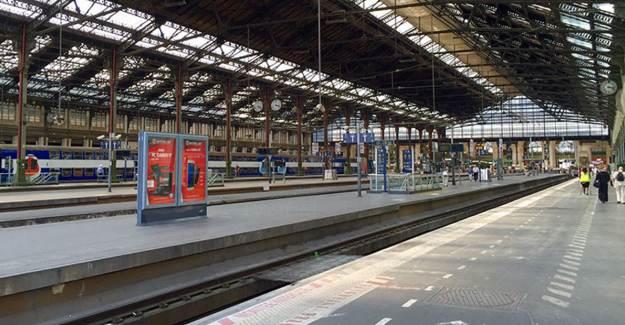 Lyon'da Tren İstasyonunda Bomba Alarmı Verildi