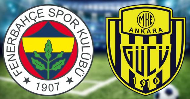 Maç Sona Erdi! Fenerbahçe 3-1 Ankaragücü