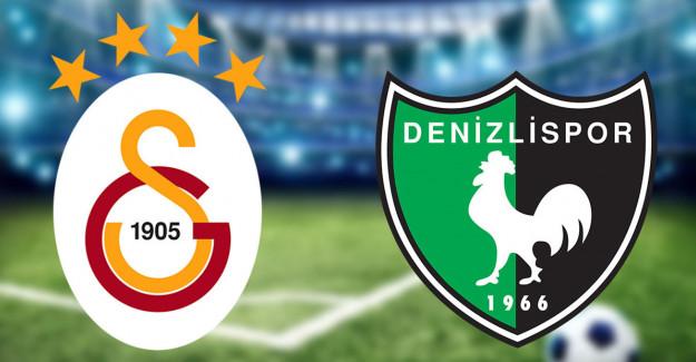 Maç Sona Erdi! Galatasaray 6-1 Denizlispor