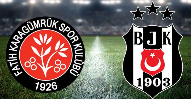 Maç Sona Erdi! Karagümrük 1-4 Beşiktaş