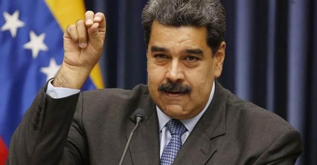Maduro: Rusya'dan Binlerce Koronavirüs Aşısı Geldi