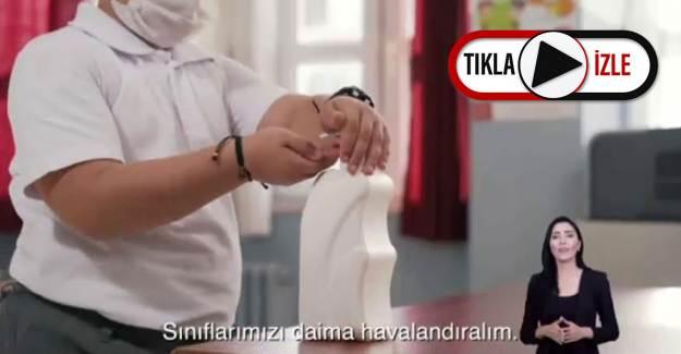 MEB Okullarda Uyulması Gereken Kuralları Hatırlatan Video Hazırladı
