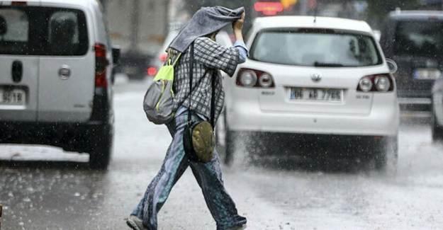 Meteoroloji'den Şiddetli Sağanak Yağış Uyarısı