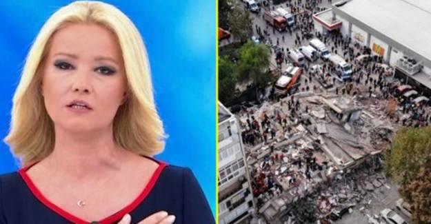 Müge Anlı, İzmir'deki Depremzedelere Mobil Aşevi Gönderdi