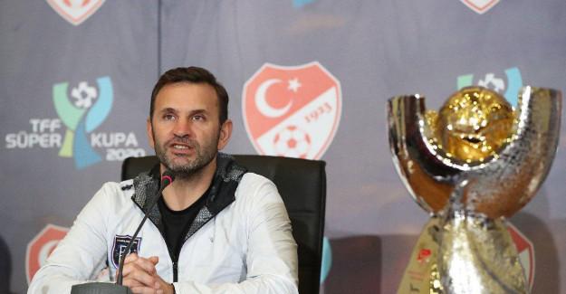 Okan Buruk Süper Kupa Öncesi Konuştu