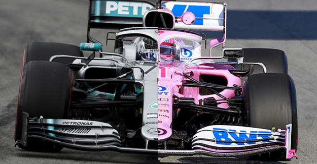 Racing Point'den sert açıklama! McLaren ve Renault da Mercedes'i kopyalıyor!