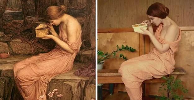 Rusların Birbirinden Eğlenceli Sanat Uyarlamaları