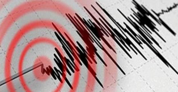Seferihisar'da Şiddetli Deprem