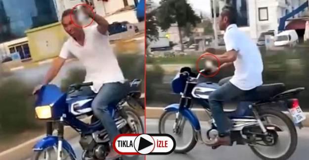 Seyir Halinde Alkol Kullanıp 'Şerefe' Diyen Sürücüye Ceza