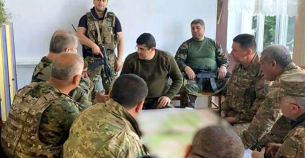 SİHA Korkusu: Sözde Karabağ Lideri Toplantıyı Anaokulunda Yaptı