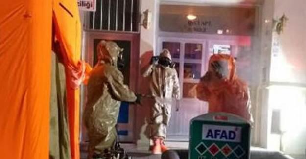 Sinop'ta Kimyasal Madde Paniğe Yol Açtı