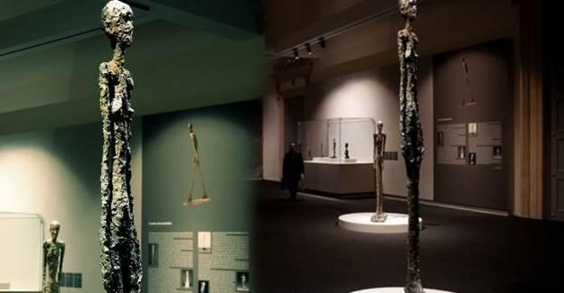 Tarihte En Pahalı Heykellerin Sanatçısı Alberto Giacometti'nin Eseri Satışta
