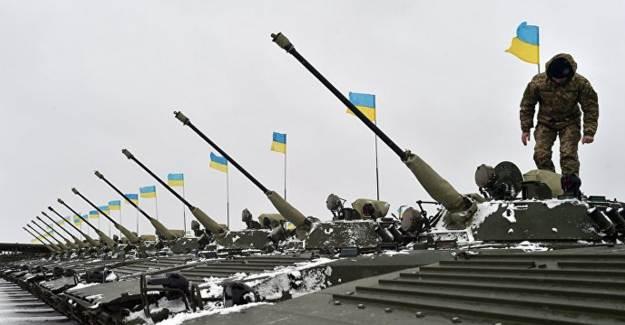 Ukrayna Ordusu Donbass'a İlerliyor