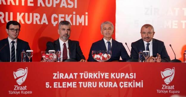Ziraat Türkiye Kupası'nda 5. Tur Fikstürü Belli Oldu!