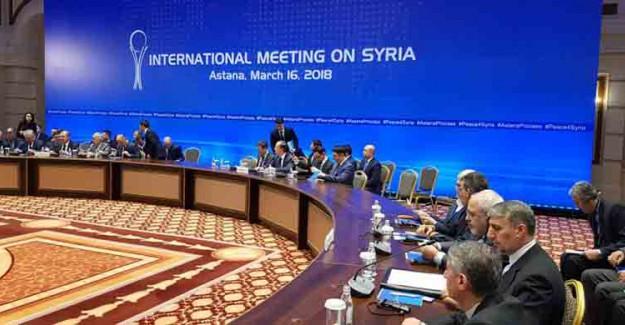 11. Suriye Toplantısı Astana'da Gerçekleşecek