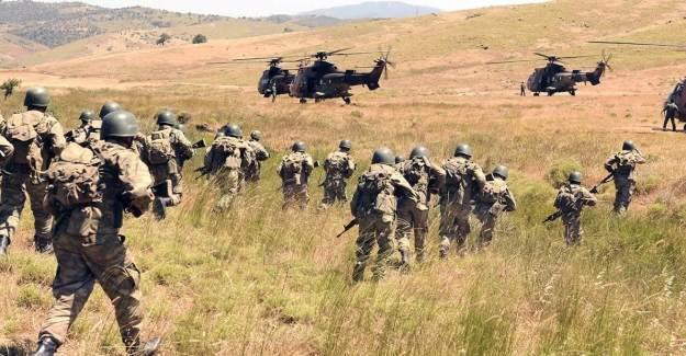Zeytindalı Bölgesinde 20 PKK'lı Kıskıvrak Yakalandı