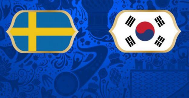 2018 Dünya Kupası İsveç Güney Kore Maçı Ne Zaman, Hangi Kanalda, Canlı İzle