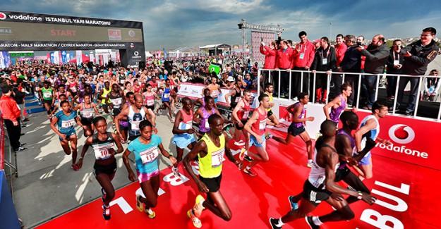 40. Vodafone İstanbul Maratonu'nda Rekor Sayı