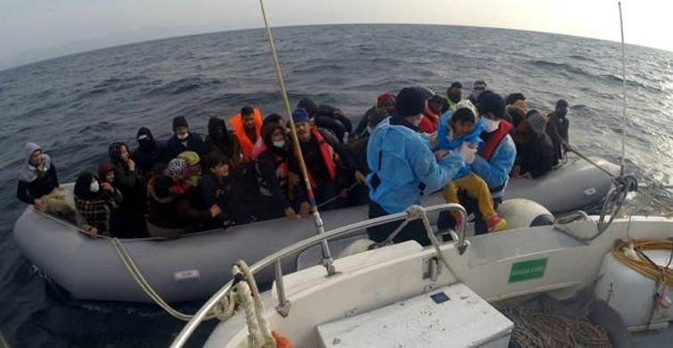 54 Göçmen Türk Kara Sularında Kurtarıldı