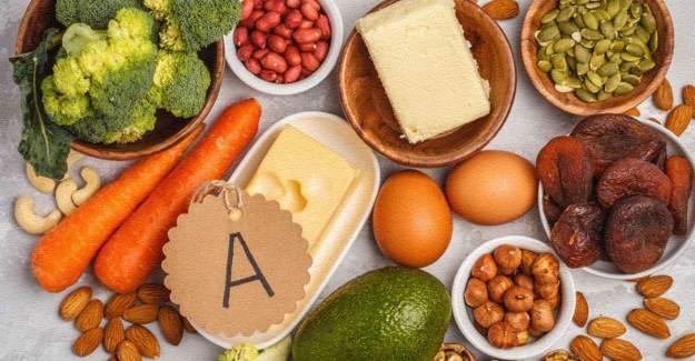 A Vitamininin Cilde Yararları