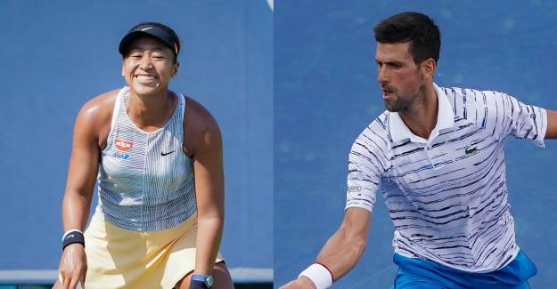 ABD Açık'ta Djokovic ve Osaka Üçüncü Tura Yükseldi!
